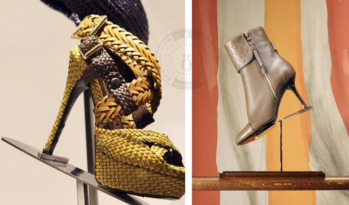 古琦与爱马仕鞋架展示道具_模特道具,陈列道具,橱窗道具,实木衣架【模