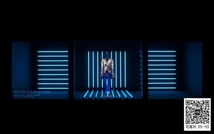 led灯光橱窗设计_橱窗展示|视觉营销