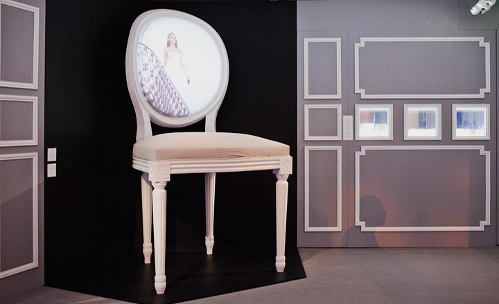 迪奥仙境橱窗设计_橱窗展示|视觉营销,橱窗效果图,陈列师【实木衣架