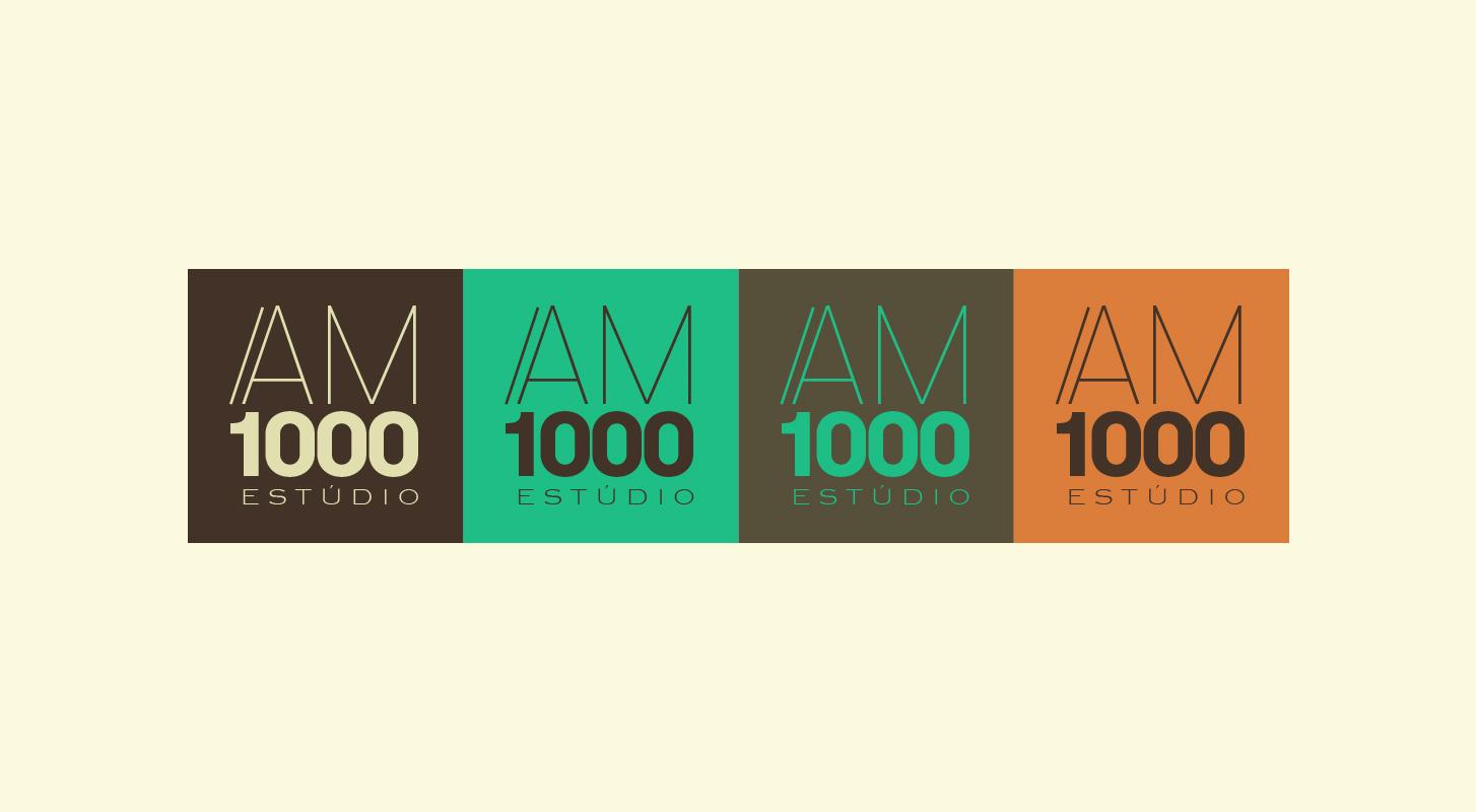 am1000音乐工作室品牌包装图片