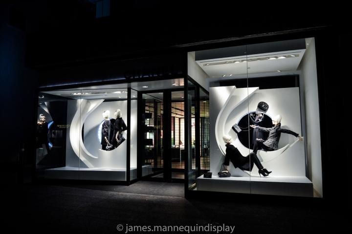 香奈儿橱窗展示设计图片 香奈儿橱窗展示设计图片大全 社会热点图片 非主流图片站