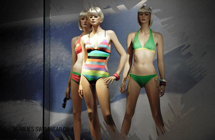泳装模特造型设计