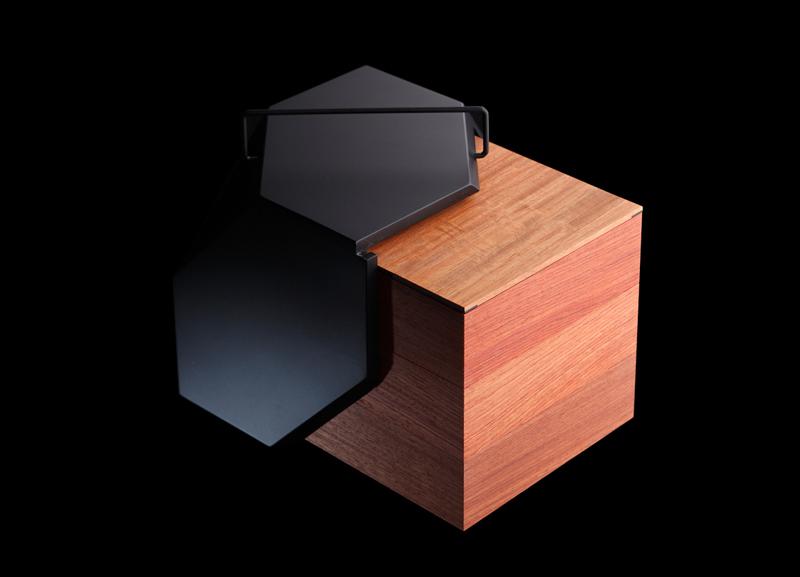 以下系列收纳盒是由日本nosigner包装设计公司