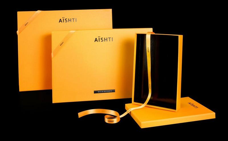 黄色手提袋包装设计