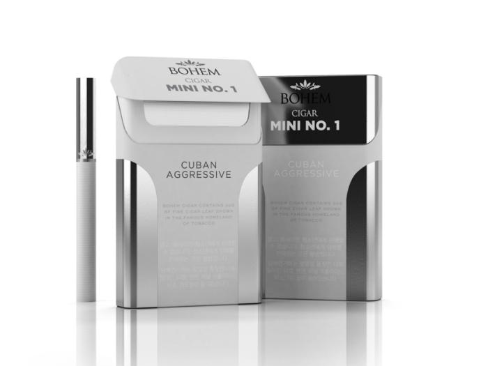 烟草的包装结构设计与服装的纸袋包装设计完全不能同比而论,烟草的
