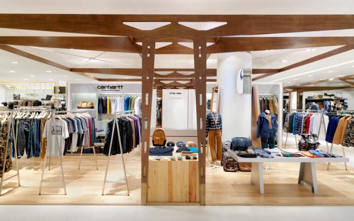 奢侈品空间体验设计hmkm_空间设计,专卖店设计,服装专卖店设计【服装